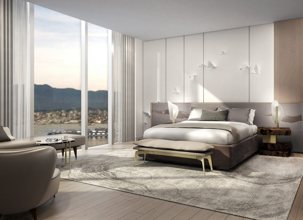 Guests Will Be Inspired At The New Toronto Marriott: JW Marriott Parq Vancouver - Studio Munge