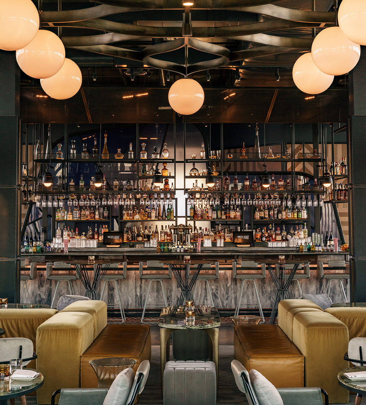 Restaurant Bar Interior Design: Westlight - Studio Munge